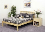 Rock Series Platform Bed Frame